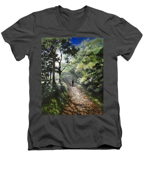 Onward Men's V-Neck T-Shirt