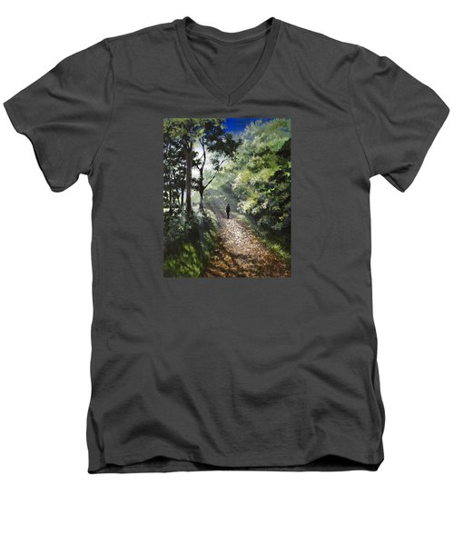 Onward Men's V-Neck T-Shirt