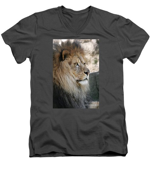 Onyo #8 Men's V-Neck T-Shirt by Judy Whitton