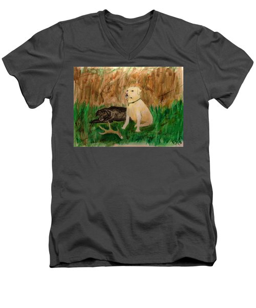 Onyx And Sarge Men's V-Neck T-Shirt