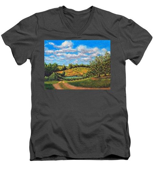 Orchard Men's V-Neck T-Shirt