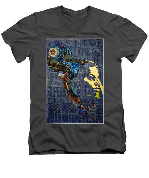Ori Dreams Of Home Men's V-Neck T-Shirt