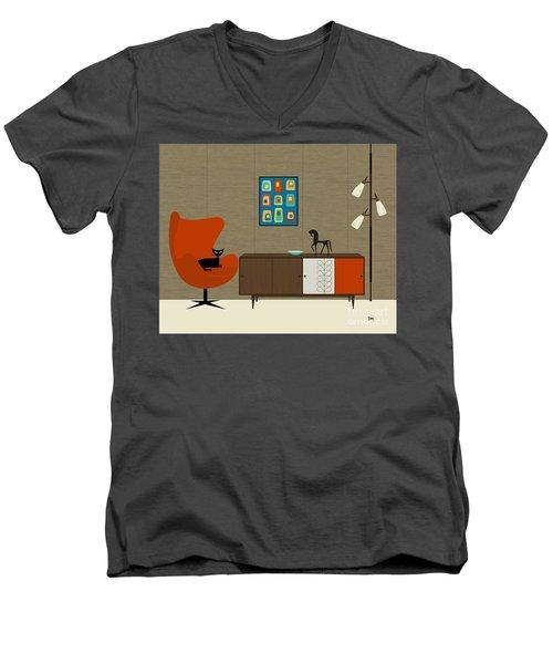 Orla Kiely Cabinet Men's V-Neck T-Shirt