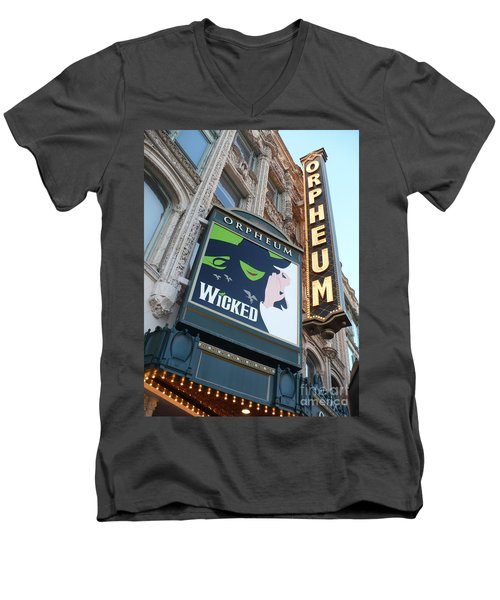 Orpheum Sign Men's V-Neck T-Shirt