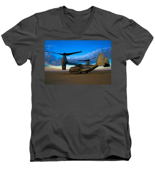 Osprey Sunrise Series 1 Of 4 Men's V-Neck T-Shirt