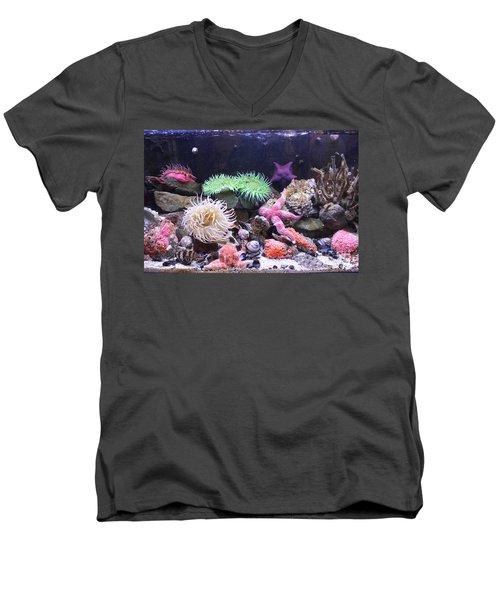 Our Colourful Underwater World Men's V-Neck T-Shirt