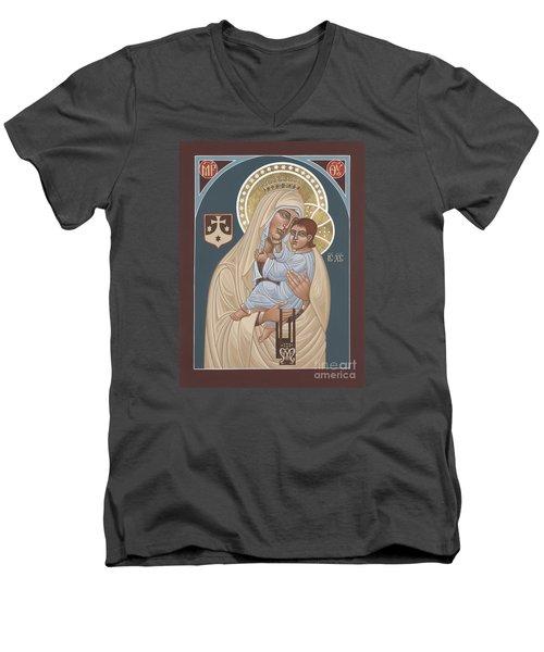 Our Lady Of Mt. Carmel 255 Men's V-Neck T-Shirt