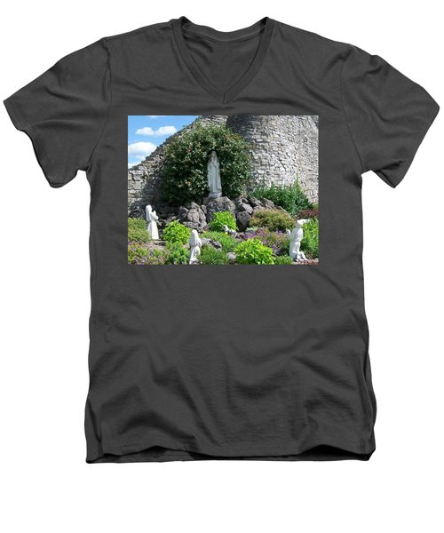 Our Lady Of The Woods Shrine Lll Men's V-Neck T-Shirt