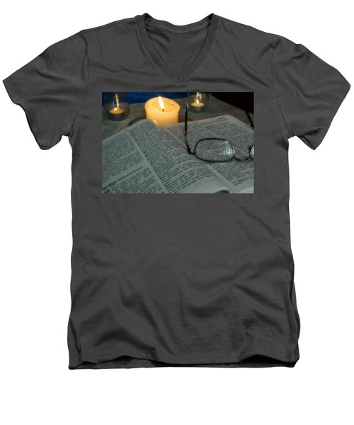 Our Shabbat Men's V-Neck T-Shirt