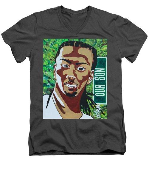 Our Son Men's V-Neck T-Shirt