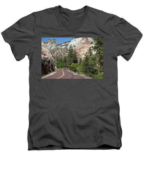Out For A Ride Men's V-Neck T-Shirt