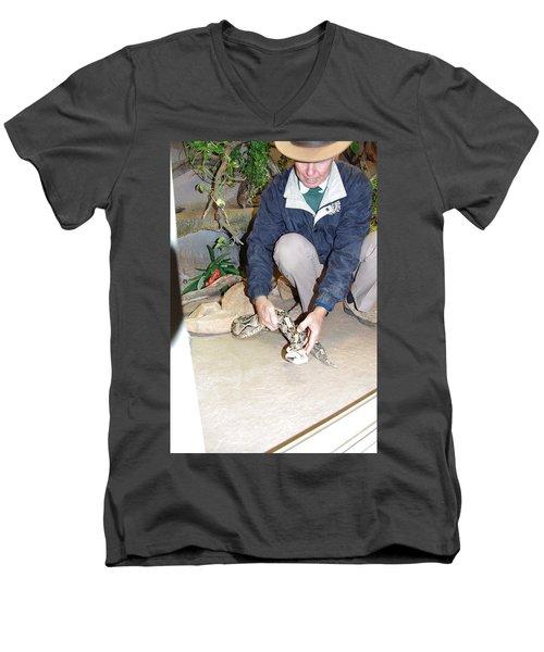 Out Of Africa Viper 1 Men's V-Neck T-Shirt