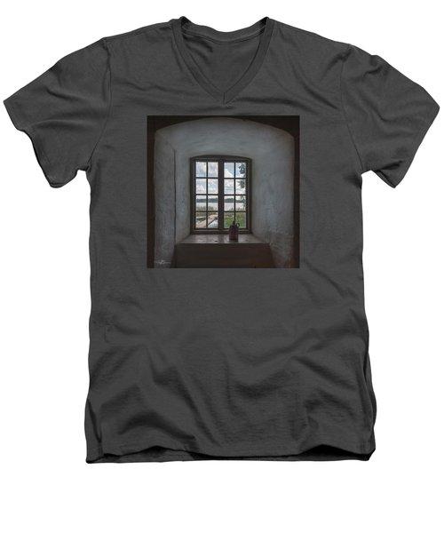 Outlook Men's V-Neck T-Shirt by Torbjorn Swenelius