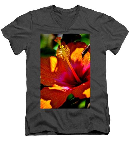 Outrageous Color Men's V-Neck T-Shirt
