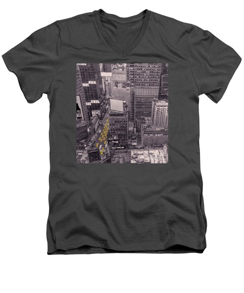 Overwhelm Me New York  Men's V-Neck T-Shirt