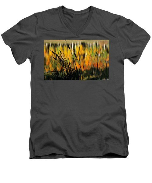 Owl Creek Pass Fall 3 Men's V-Neck T-Shirt