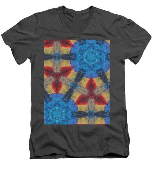 Owl Dream Catcher Men's V-Neck T-Shirt