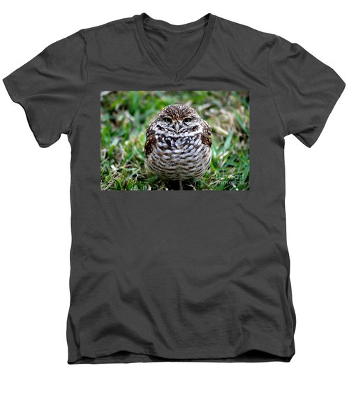 Owl. Best Photo Men's V-Neck T-Shirt