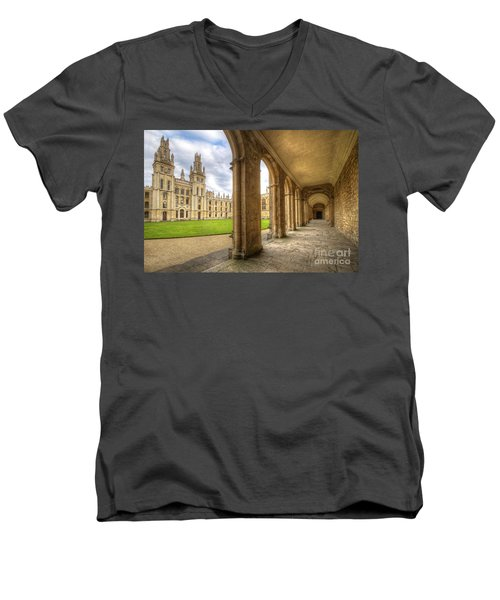 Oxford University - All Souls College 2.0 Men's V-Neck T-Shirt