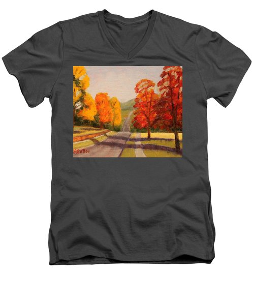 Ozarks October Men's V-Neck T-Shirt