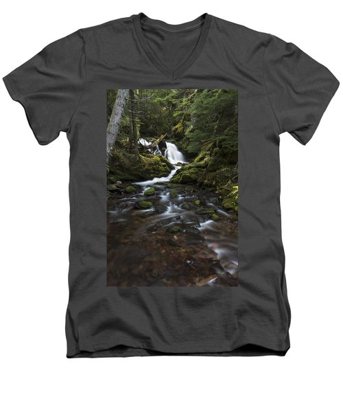 Packer Falls #3 Men's V-Neck T-Shirt