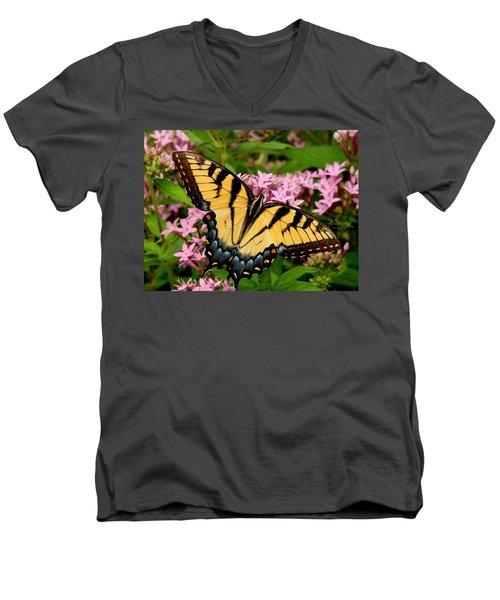 Painted Wings Men's V-Neck T-Shirt