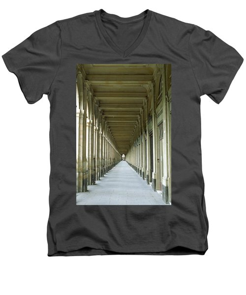 Palais Royale Men's V-Neck T-Shirt