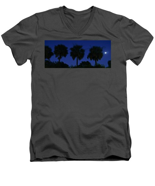 Palmetto Moon Men's V-Neck T-Shirt