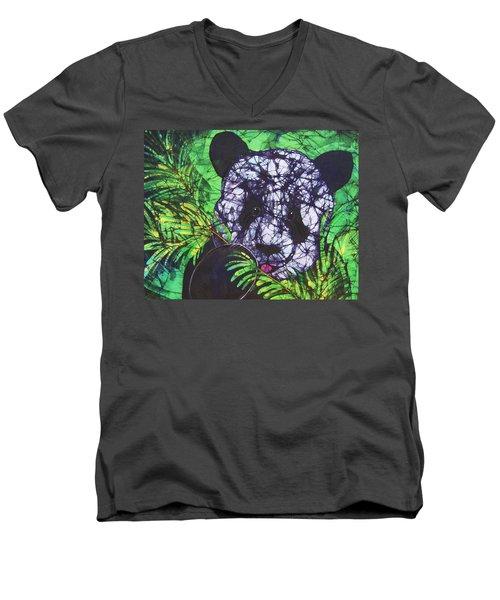 Panda Snack Men's V-Neck T-Shirt