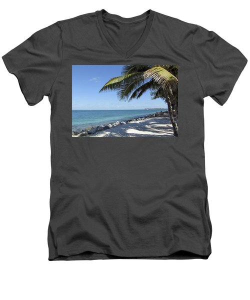 Paradise - Key West Florida Men's V-Neck T-Shirt