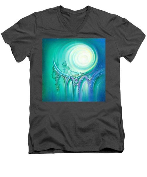 Parallel Ways Men's V-Neck T-Shirt
