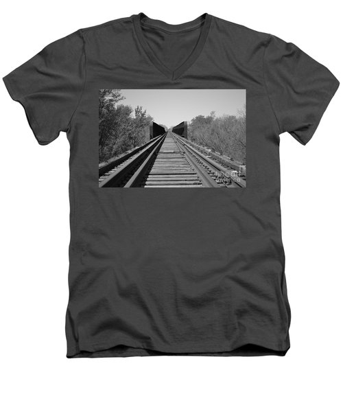 Parallelism Men's V-Neck T-Shirt