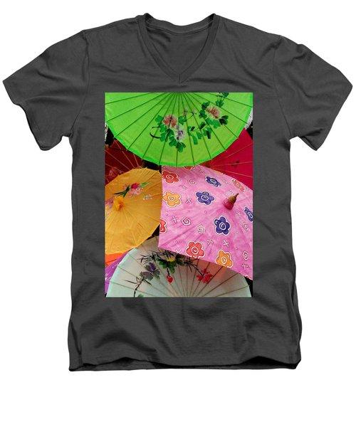 Parasols 2 Men's V-Neck T-Shirt