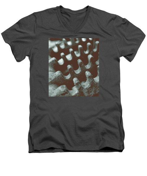 Passing Gears Men's V-Neck T-Shirt by Steven Milner