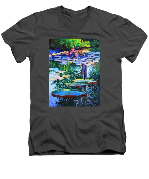 Passion For Color And Light Men's V-Neck T-Shirt