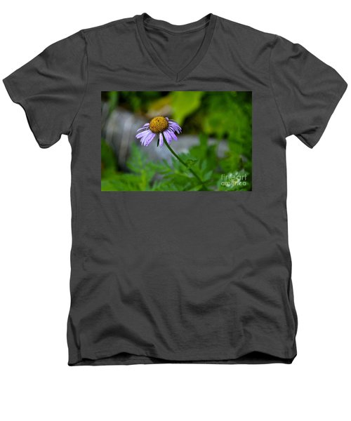 Men's V-Neck T-Shirt featuring the photograph Past Prime by Sean Griffin