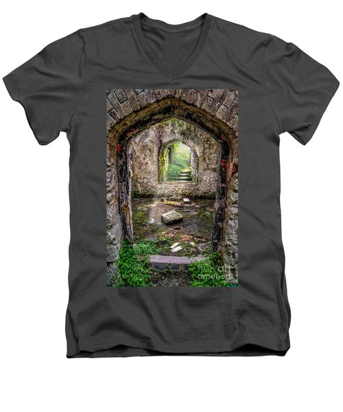 Path Less Travelled Men's V-Neck T-Shirt