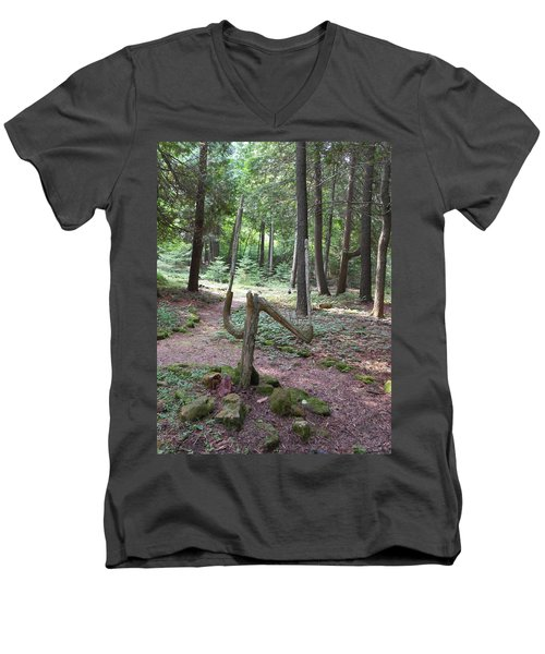 Path Of Choice Men's V-Neck T-Shirt