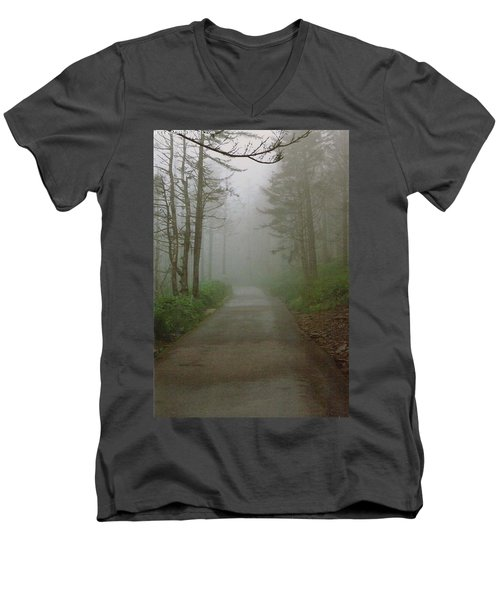 Path To Clingmans Dome Men's V-Neck T-Shirt