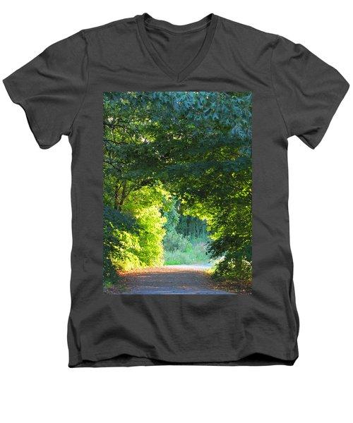 Path To The Light Men's V-Neck T-Shirt