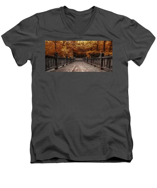 Path To The Wild Wood Men's V-Neck T-Shirt
