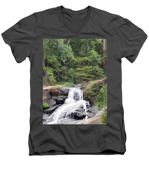 Peaceful Retreat Men's V-Neck T-Shirt