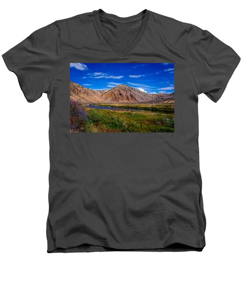Peaceful Valley Men's V-Neck T-Shirt