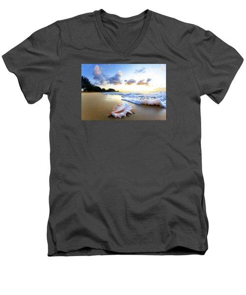 Peaches N' Cream Men's V-Neck T-Shirt