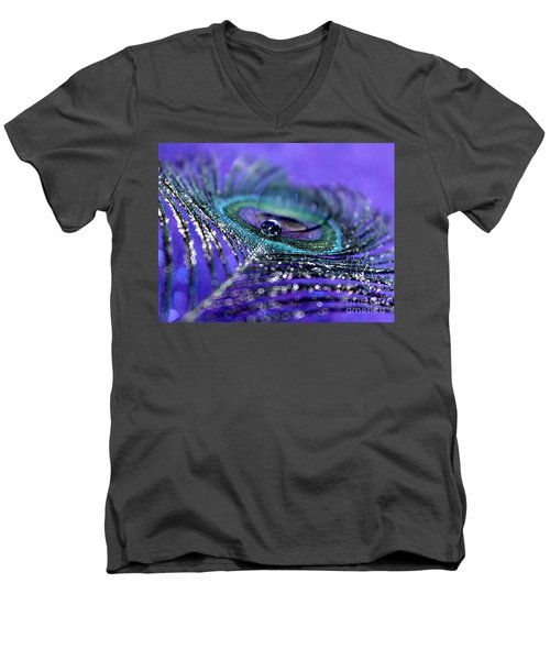Peacock Spirit Men's V-Neck T-Shirt