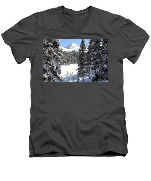 Peak Peek Men's V-Neck T-Shirt