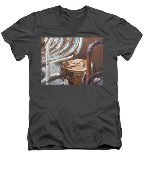 Peanuts Men's V-Neck T-Shirt
