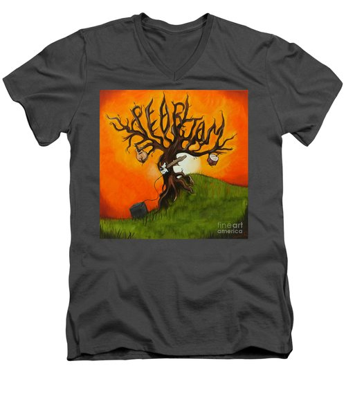 Pearl Jam Tree Men's V-Neck T-Shirt