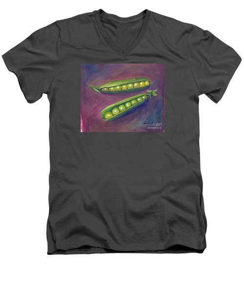 Peas In Their Pods Men's V-Neck T-Shirt