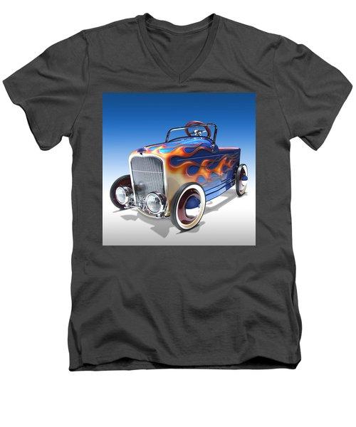 Peddle Car Men's V-Neck T-Shirt